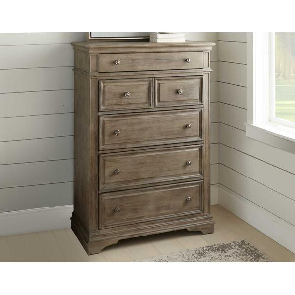 See Details - Highland Park Chest, Waxed Driftwood