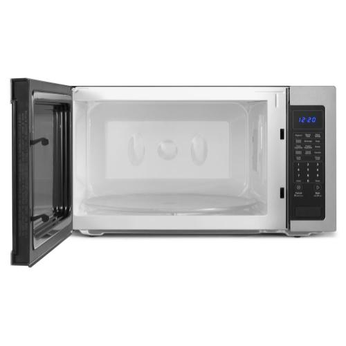 Whirlpool - 2.2 cu. ft. Countertop Microwave with Greater Capacity