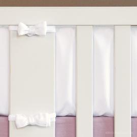 Jasmine Velvet Crib Bumper