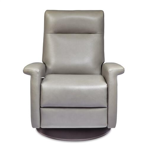 Fallon Leather Swivel Recliner Chair - American Leather