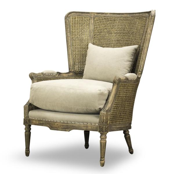 See Details - Amelia Chair in Windfield Natural
