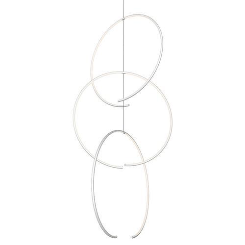 Sonneman - A Way of Light - Torc LED Pendant [Size=Triple Pendant, Color/Finish=Satin White]