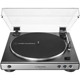 Fully Automatic Belt-Drive Turntable (Silver)