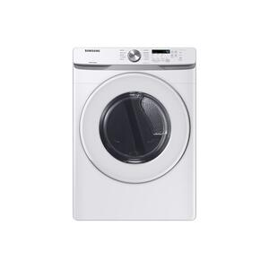 7.5 cu. ft. Electric Dryer with Sensor Dry in White Product Image
