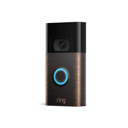 Ring - Video Doorbell (for 2020 Release) - Satin Nickel