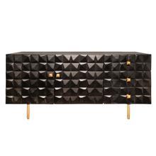 "See Details - Wood 63x30"" 3-drawer Sideboard"