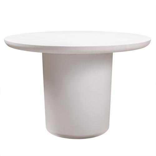 Tov Furniture - Roxie Ivory Concrete Dining Table