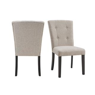 See Details - Lexi Tufted Upholstered Chair Set