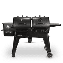 Navigator Pellet/ Gas Combo Grill