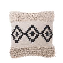See Details - Black & White Diamond Pillow