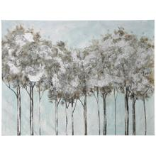 See Details - Plantation Shade  50in X 35in  Traditional Textured Hand Embellished Stretched Canvas