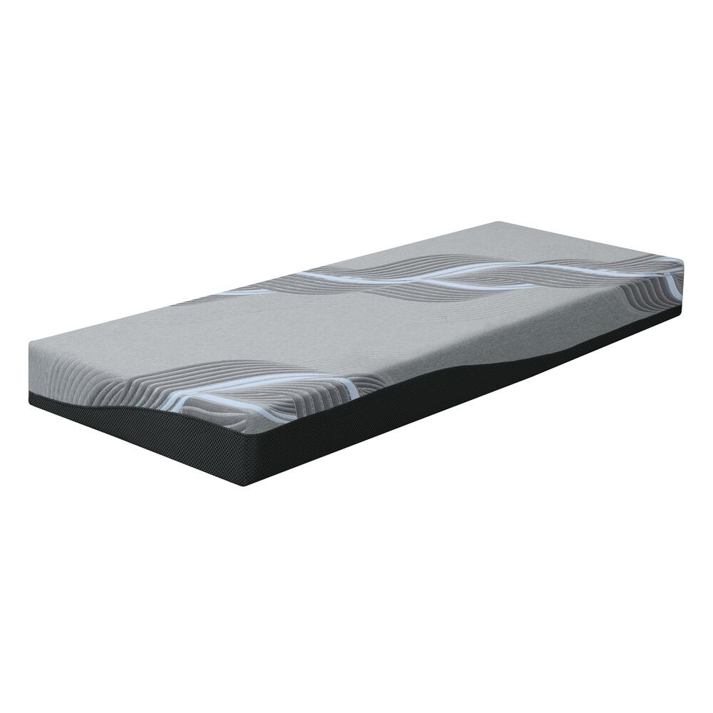"Celestine 8"" Firm 8"" Twin Mattress, Cosmos Gray Es5208tm-01"