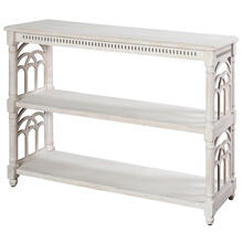 Three tier console table