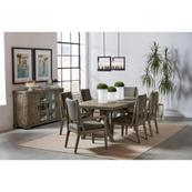 Milton Park - Rectangular Dining Table - Primitive Silk Finish