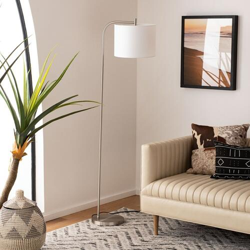 Rafin Floor Lamp - Nickel