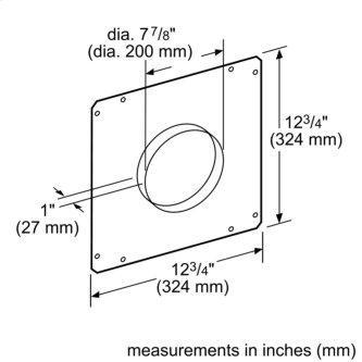Ventilation Accessory HDDFTRAN8 00777716