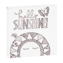 "See Details - ""Hello Sunshine"" Magnet Block."