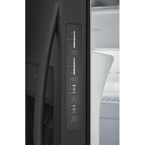 Frigidaire 22.3 Cu.Ft. 33'' Standard Depth Side by Side Refrigerator