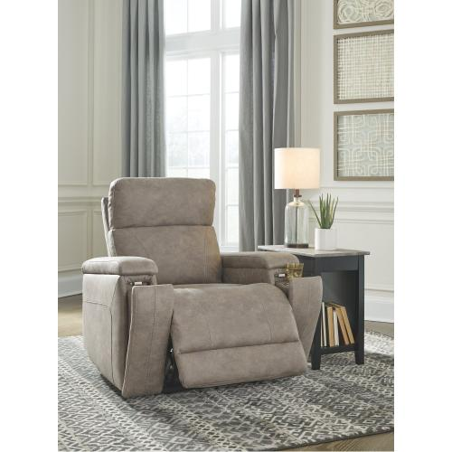 Power Recliner with Power Headrest and Lumbar
