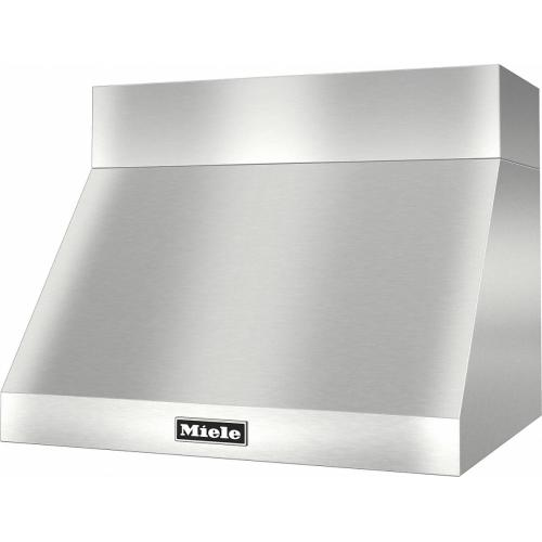DAR 1220 Set 1 Wall-Mounted Range Hood With Circulation Mode with integrated XL motor without chimney cover.