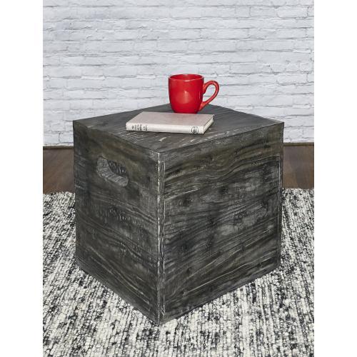 Square Crate, Grey