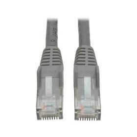 Cat6 Gigabit Snagless Molded (UTP) Ethernet Cable (RJ45 M/M), Gray, 10 ft.