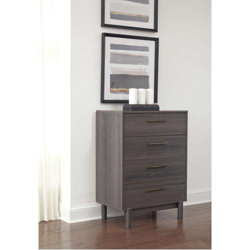 Gallery - Queen Platform Bed With Dresser and Chest