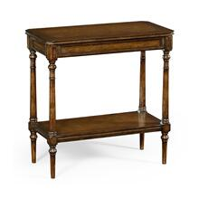 Country Living Style Walnut Side Table