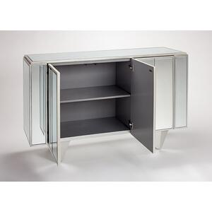 Mirrored Cabinet 59x16x37""