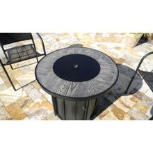 View Product - Wood Look Tile Top Fire Pit