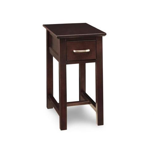 - Brooklyn Chairside Table w/1 Drawer