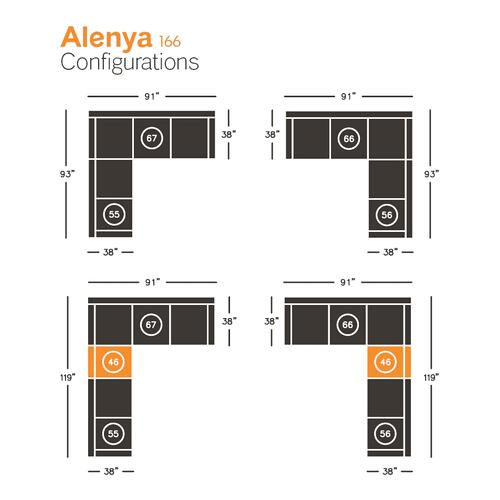 Signature Design By Ashley - Alenya Armless Chair