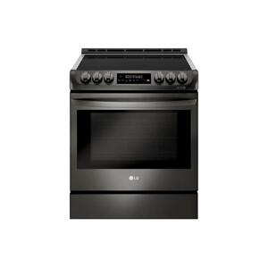 LG Appliances6.3 cu. ft. Smart wi-fi Enabled Induction Slide-in Range with ProBake Convection® and EasyClean®