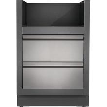 OASIS Under Grill Cabinet for BISZ300 or BISB245 , Grey