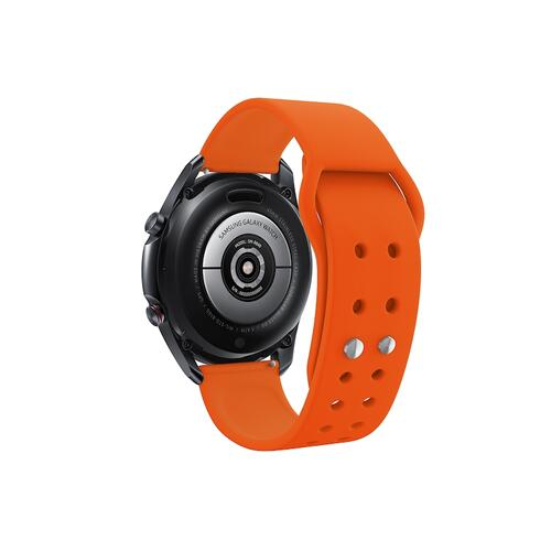 Quick Change Silicone Sport Watch Band (20mm) Orange