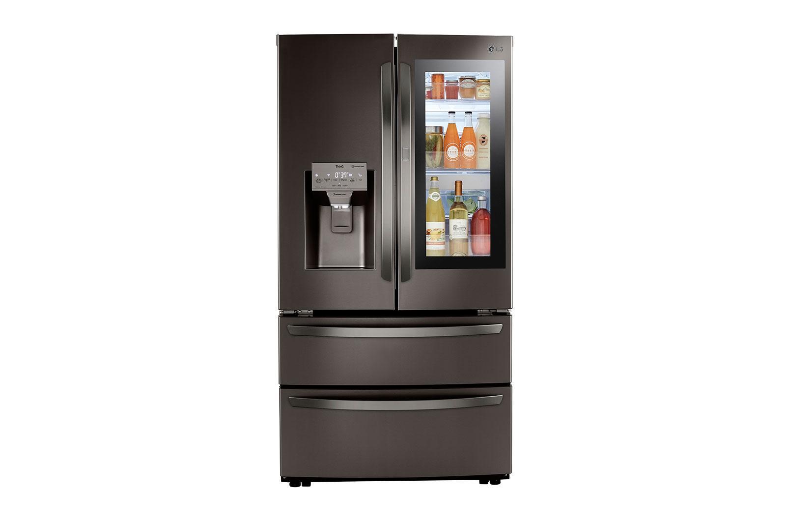 LG Appliances28 Cu Ft. Smart Instaview® Door-In-Door® Double Freezer Refrigerator With Craft Ice™