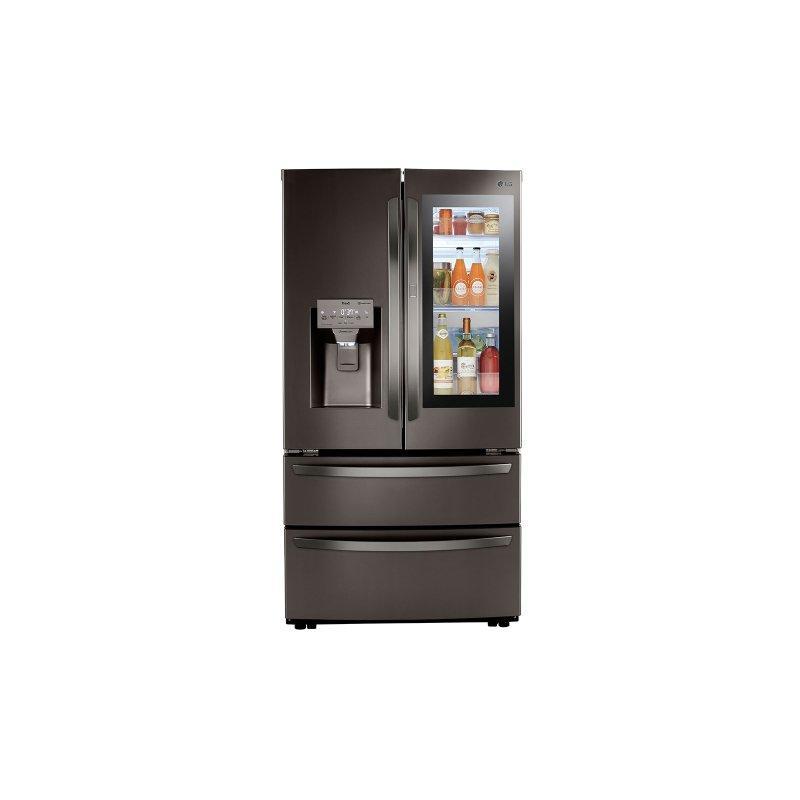 28 cu ft. Smart InstaView® Door-in-Door® Double Freezer Refrigerator with Craft Ice™