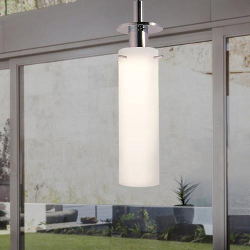 Sonneman - A Way of Light - Candle Pendant [Size=1-Light, Color/Finish=Satin Nickel]