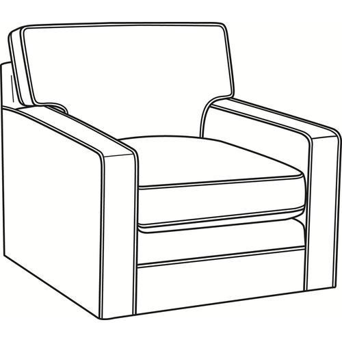 Braxton Culler Inc - Gramercy Park Swivel Chair