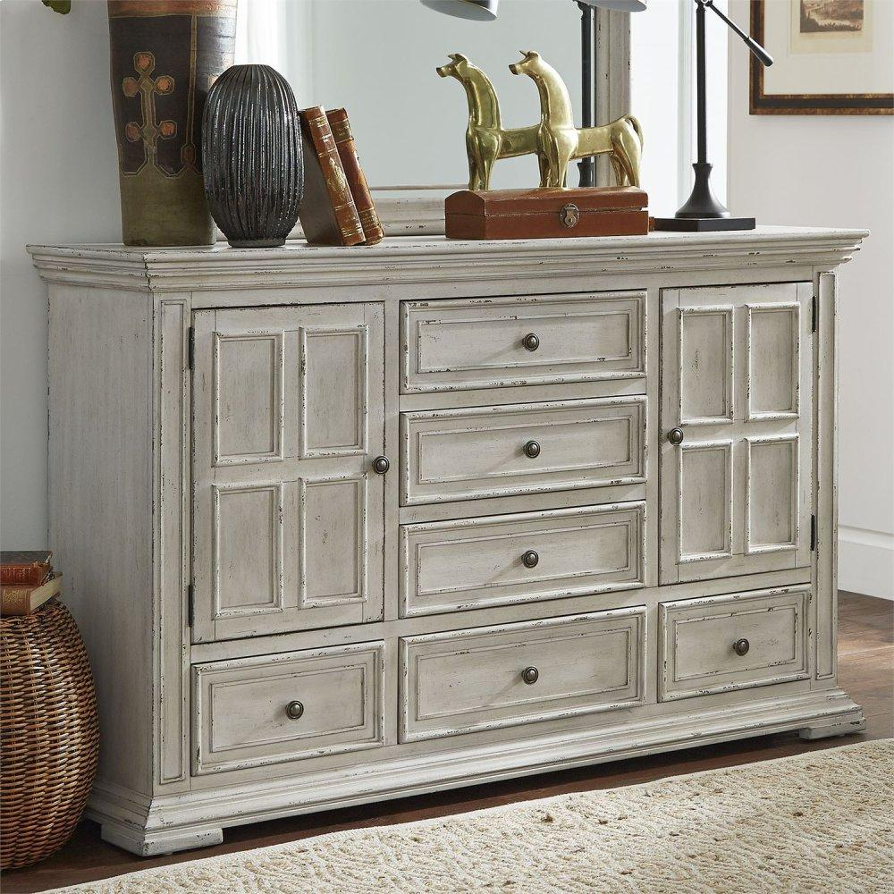 2 Door 6 Drawer Dresser
