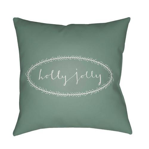 "Holly Jolly HDY-035 18""H x 18""W"