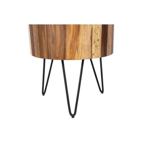 Porter International Designs - Tulsa Natural End Table, SBA-1090