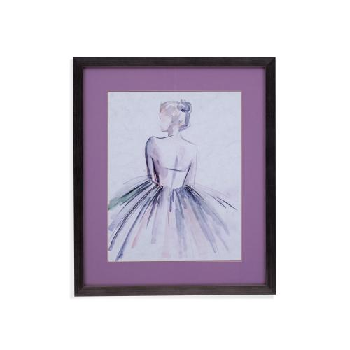 Gallery - Watercolor Ballerina I
