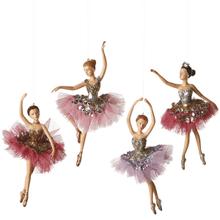 Ballet Ornaments (4 asstd)