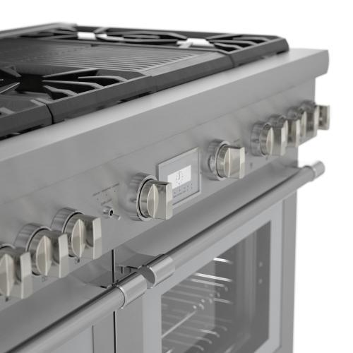 Thermador - Dual Fuel Professional Range 48'' PRD486WLHU
