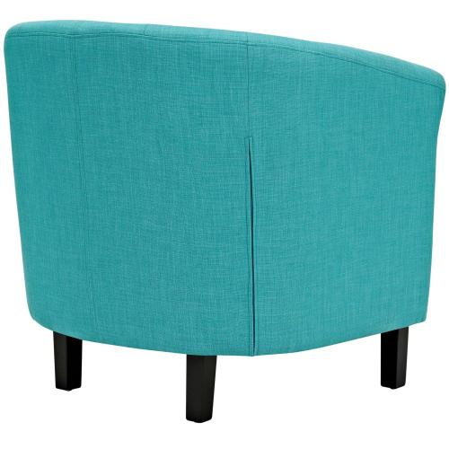 Prospect Upholstered Fabric Armchair in Pure Water