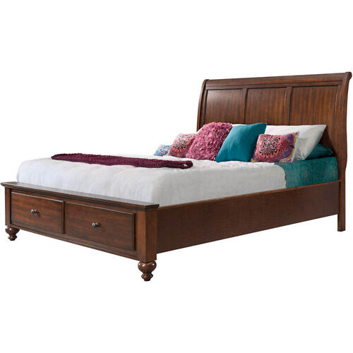 Hanover Outdoor Furniture - Cambridge Newport Storage King Bed, 98110BKG-CH