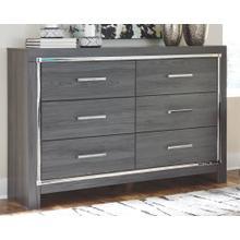 Lodanna Dresser Gray