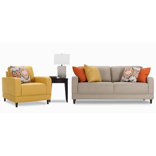 Brasilia Loveseat & Chair