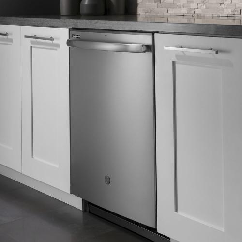 "GE 24"" Built-In Hidden Control Dishwasher with Stainless Steel Tall Tub Stainless Steel - GDT635HSMSS"